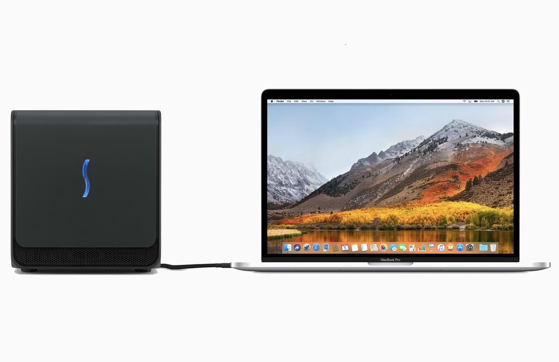 最新macOSではeGPUが使いやすく! 新クラムシェルモードやホットプラグに対応
