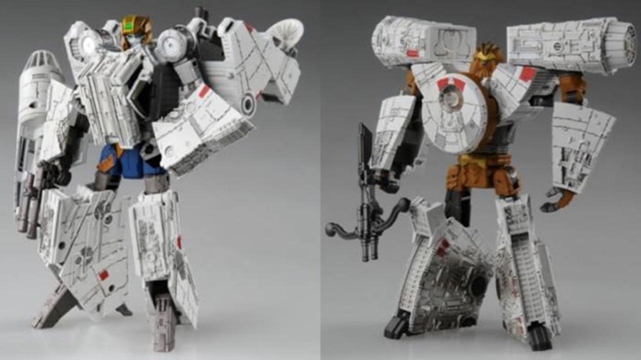 ミレニアムファルコンがロボットに変身!! スターウォーズとトランスフォーマーのコラボが再登場
