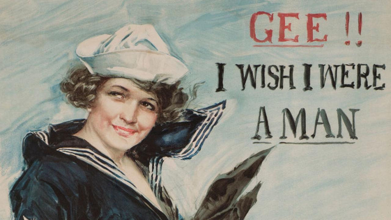 アメリカがWW1時代に発行していたプロパガンダ用ポスターがゴージャスにイカれてる