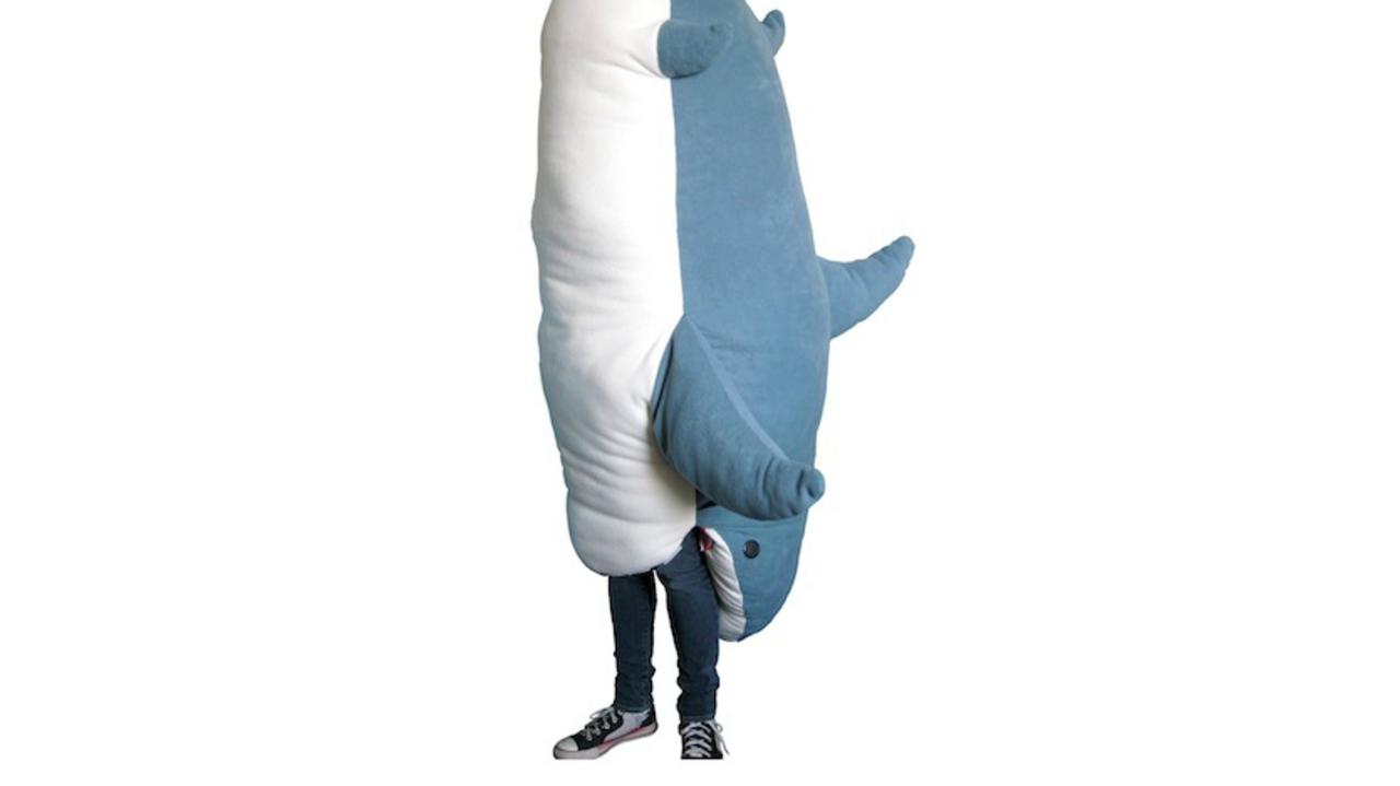 ジョーズに喰われる夢の中、あなたはサメの口の中