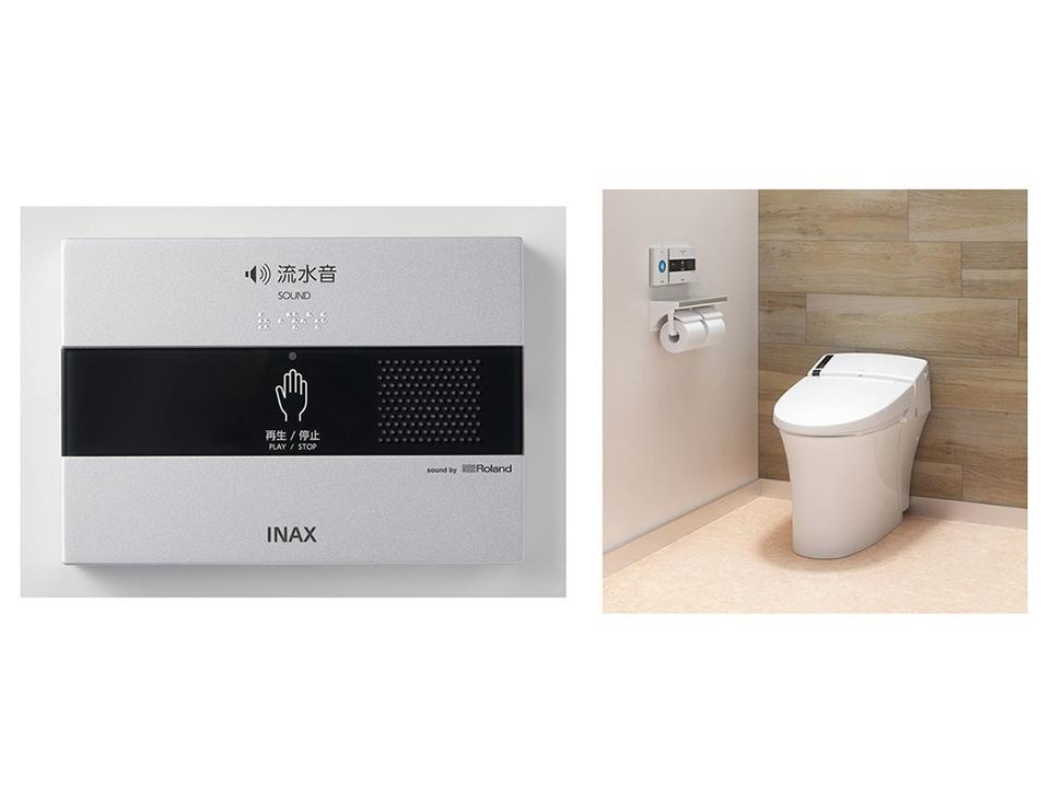電子楽器のローランドがつくったトイレ用の音響装置とか…なにそれ気になる