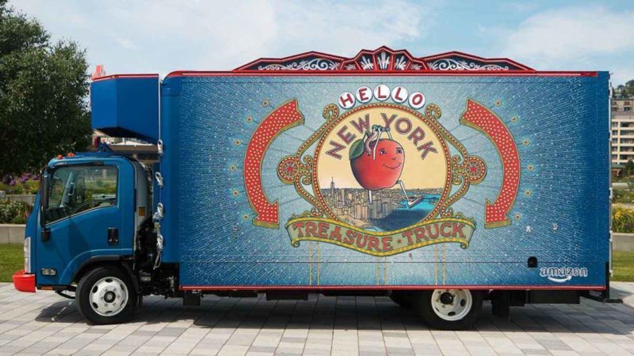 Amazonのお宝トラックがホールフーズの駐車場に登場。どんどんとリアルの世界に進出へ