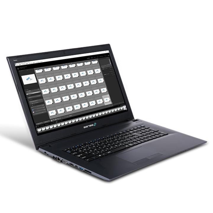 RAW現像&写真編集向けの17型ノートPC「SENSE∞」はお手頃価格だけど...