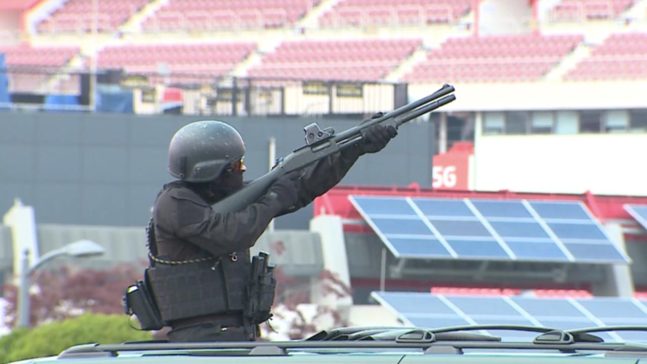 平昌冬季五輪にはドローン警備隊が配備。SWATによる訓練もドローン攻撃を想定しているよう