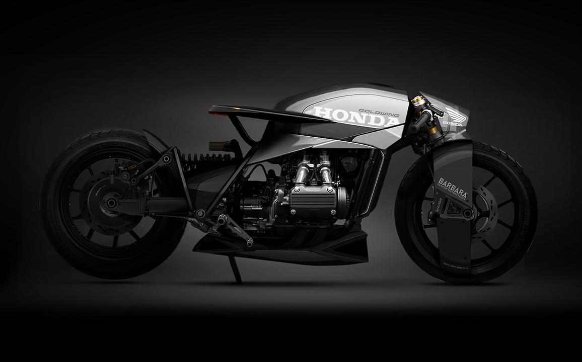 BMWにホンダにカワサキ…バイクを未来的にデザインしたコンセプト・アート