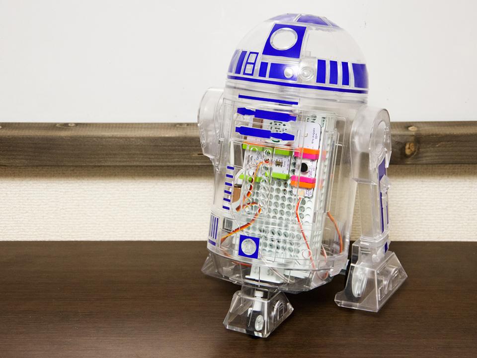 littleBitsで組み立てる「Droid Inventor Kit」レビュー:ウチの子(ロボ)への愛着がすごい