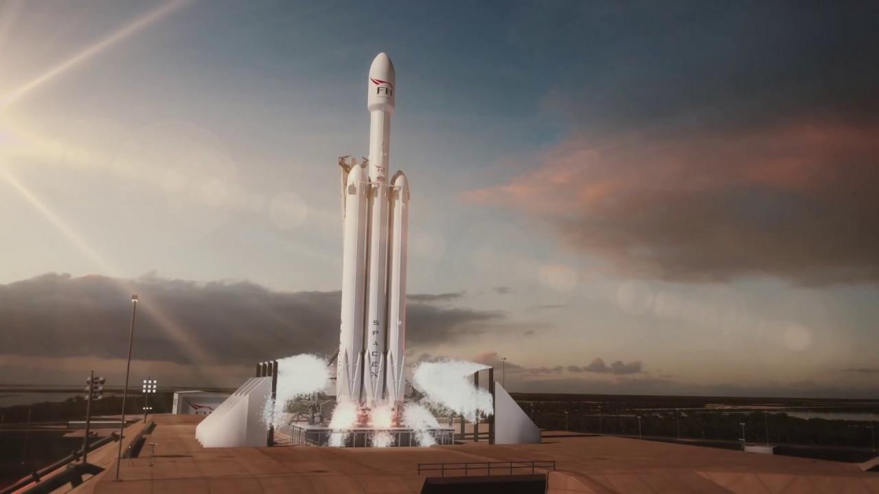 SpaceXのファルコンヘビーがどのように飛んだのかを公式CGアニメで見てみよう