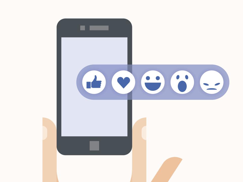 Facebookが「反対」ボタンを一部でテスト。「よくないね」ボタンとは違うらしい