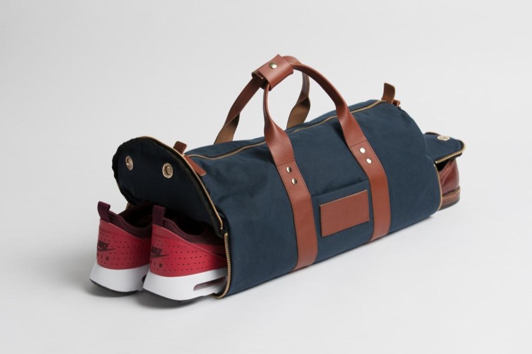 ジムに通うビジネスパーソンのためのダッフルバッグ「Everyday Duffle」がキャンペーンを開始