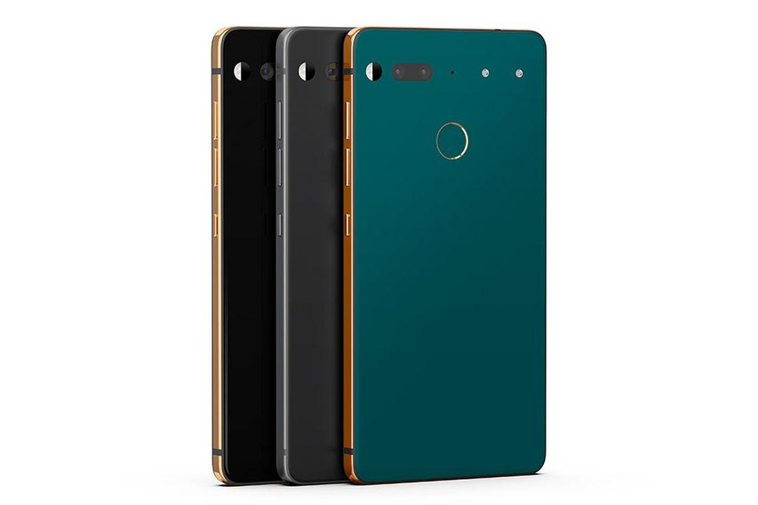 Essential Phoneに新カラー3色が追加、深いグリーンが綺麗