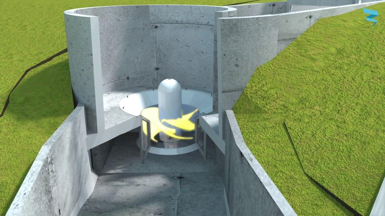 ベルギー発:古くて新しい水力発電装置「Turbulent Hydro」