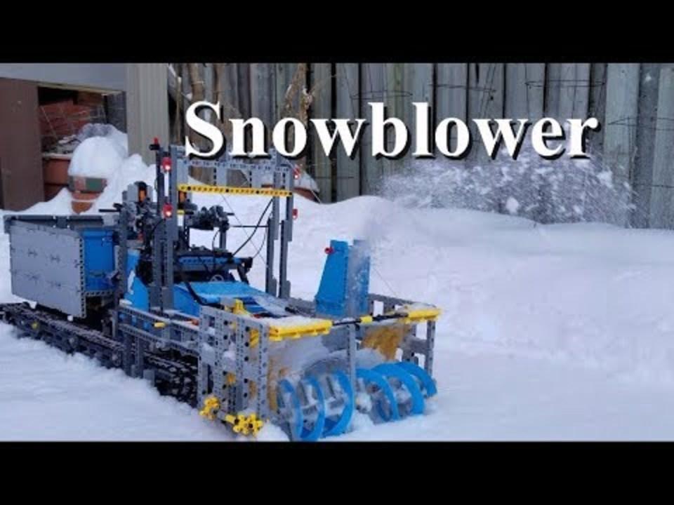 レゴは除雪だってできる