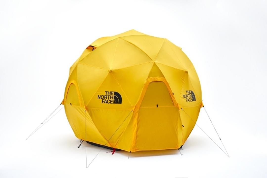 THE NORTH FACEの最強宇宙船テントは台風が来たってビクともしないよ