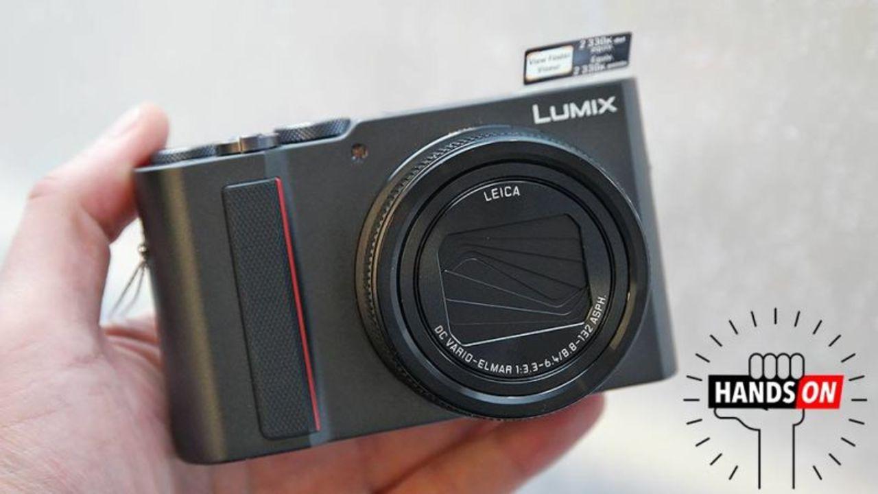 LUMIX ZS200ハンズオン:超倍率ズームレンズを小さなカメラで