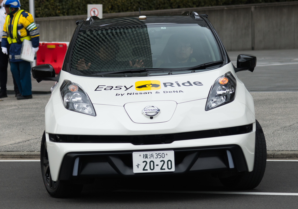 無人タクシーが横浜を走るって!実証実験がみなとみらいではじまります