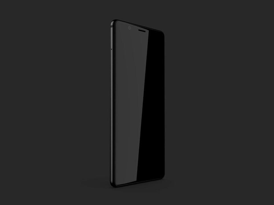 BlackBerryが今度はインド製に! 物理キーボードなしのベゼルレススマホっぽい