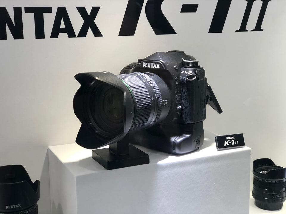 物理的に追加だって!? 「PENTAX K-1 Mark II」アップグレードのヒミツを聞いてみた #CPplus