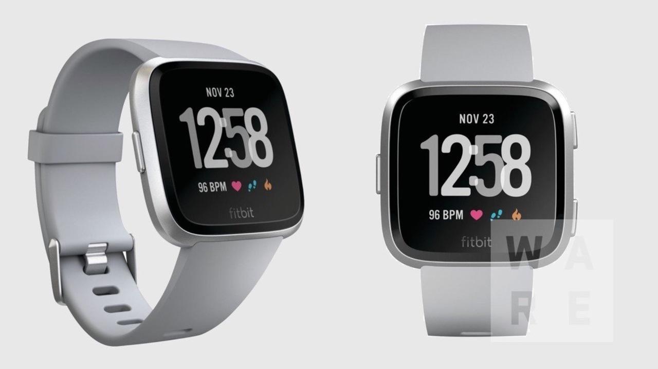 Fitbitの新型スマートウォッチがリーク?デザインは悪くない