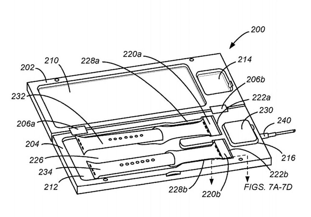 Apple Watchの充電ボックス? Appleの新特許が判明