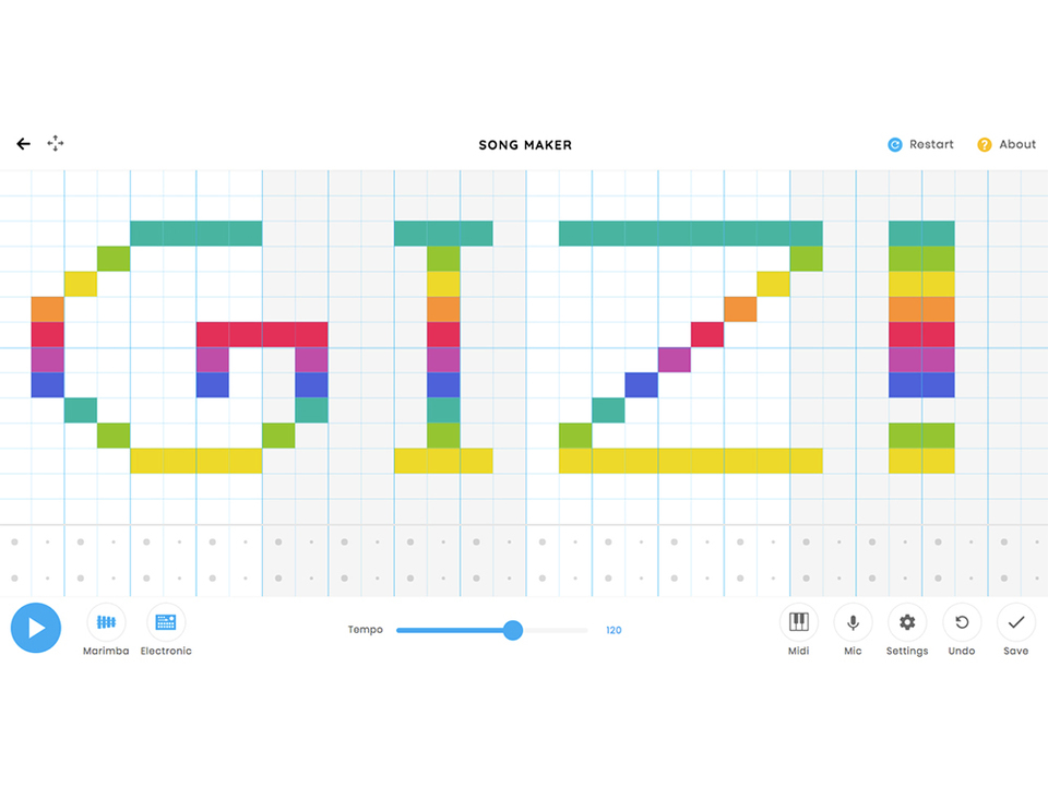 マイクからも入力ができるGoogleの音楽webアプリ「SONG MAKER」が公開