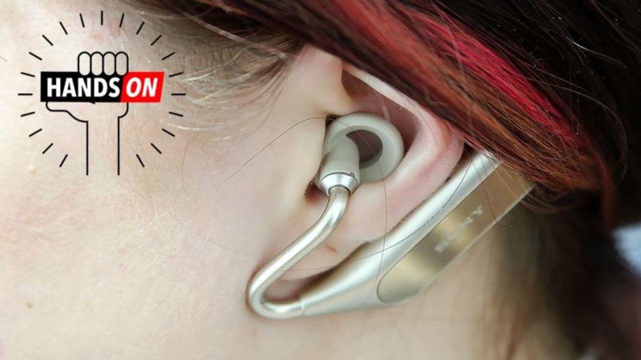 Sony Xperia Ear Duoハンズオン:音楽も環境音も同時に聞き取れる、魔法のイヤホン