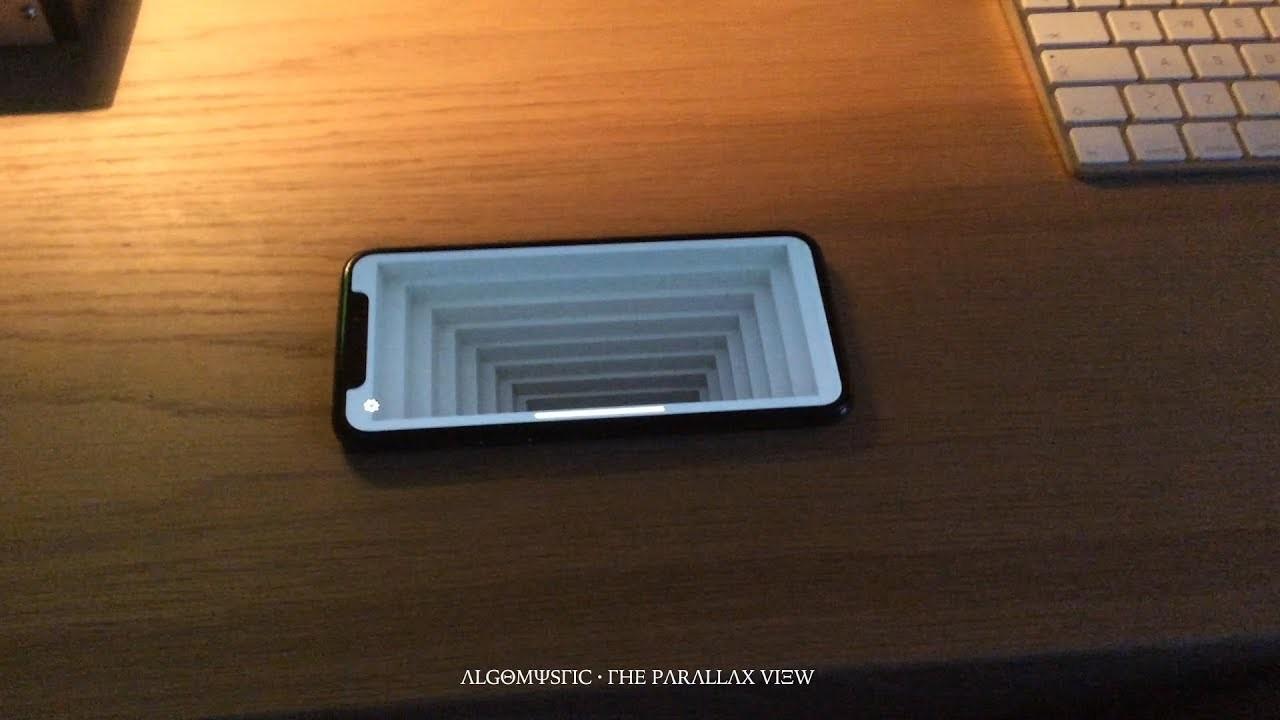 iPhone Xの画面を底なしの階段に変える
