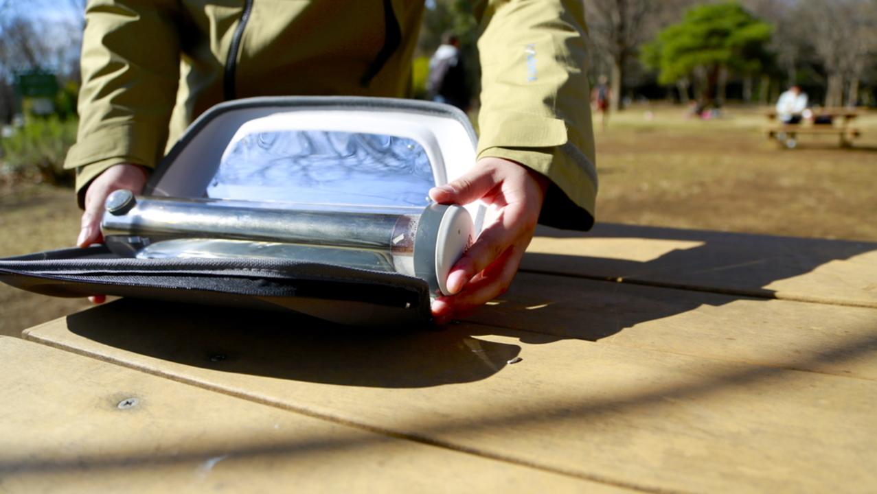 究極のエコ調理がここに。太陽光で調理するソーラーオーブン「GoSun Go」を使ってみた