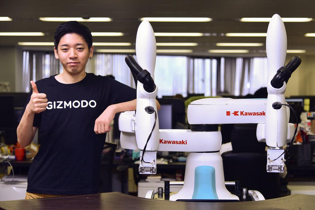 ギズモードの新人はロボットです。人と一緒に働けるduAroをよろしくね