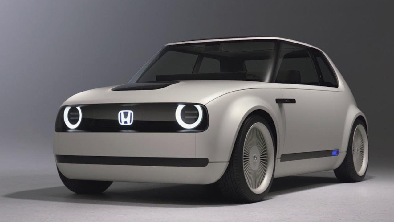 ホンダのレトロフューチャーなクルマ「Urban EV Concept」2019年の販売を目標に