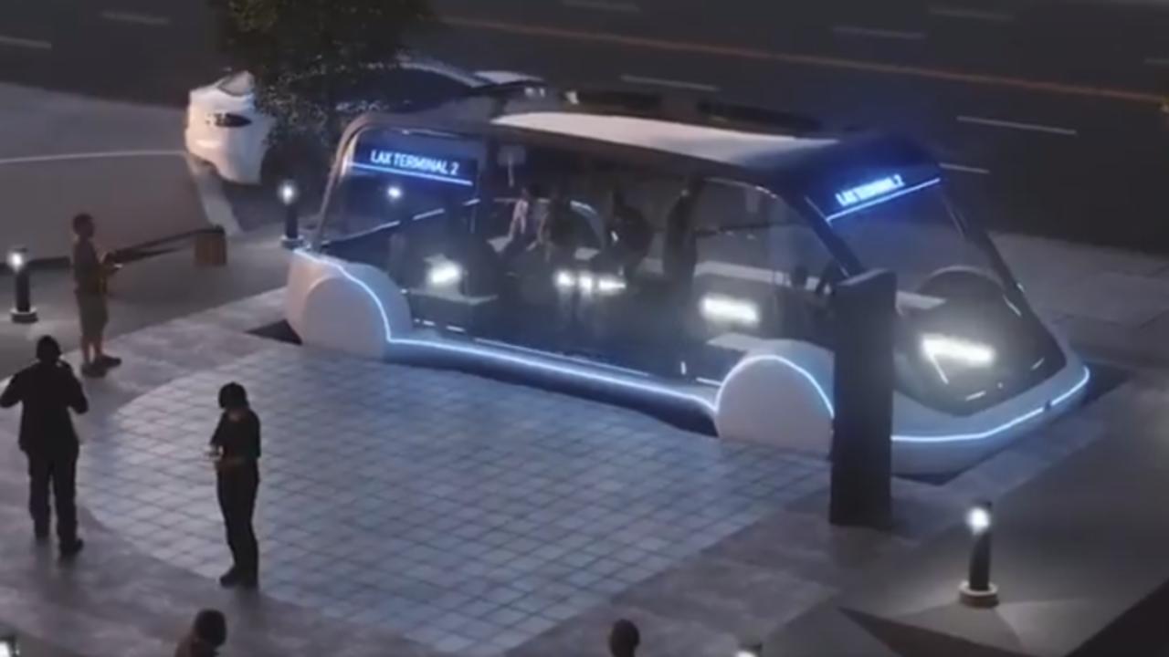 未来的なバスが登場。イーロン・マスクのトンネル・インフラ「アーバン・ループ」計画に新映像