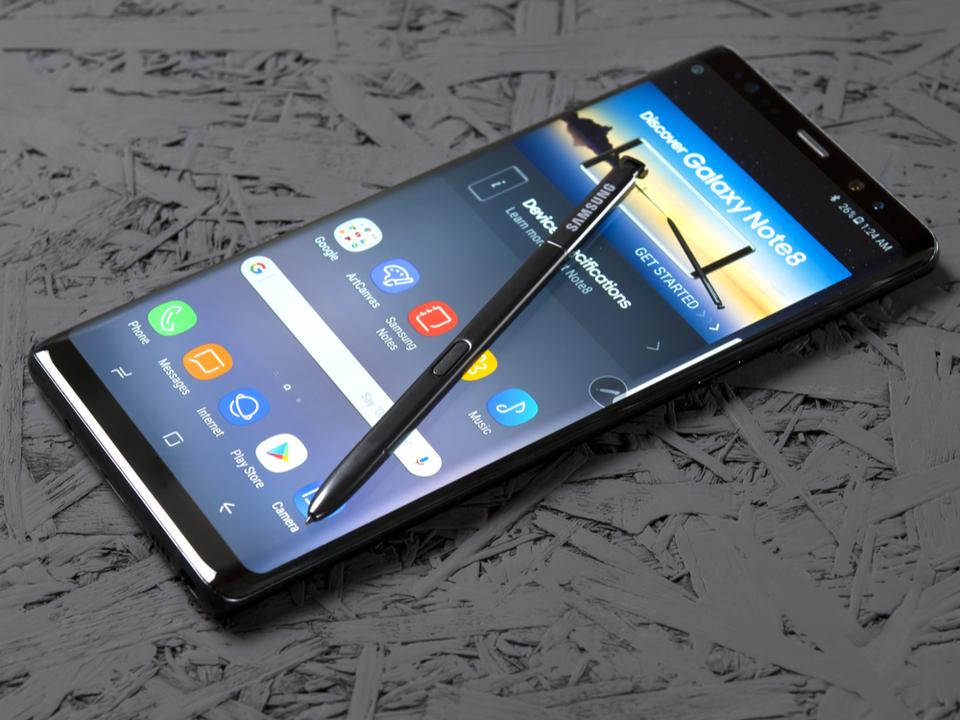 むむ、次期モデル「Galaxy Note9」にはディスプレー下での指紋認証は搭載されないかも