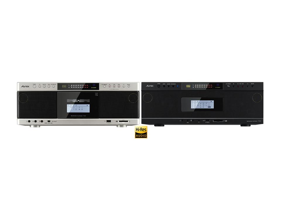カセットテープがハイレゾ相当で再生できるCDラジカセ。てーぷがはいれぞ……って?