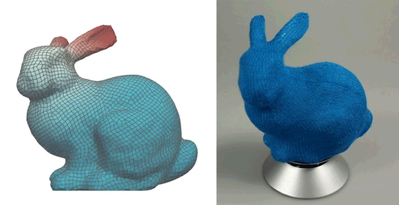 最先端のKAWAII! 3Dモデルからあみぐるみが作れる時代