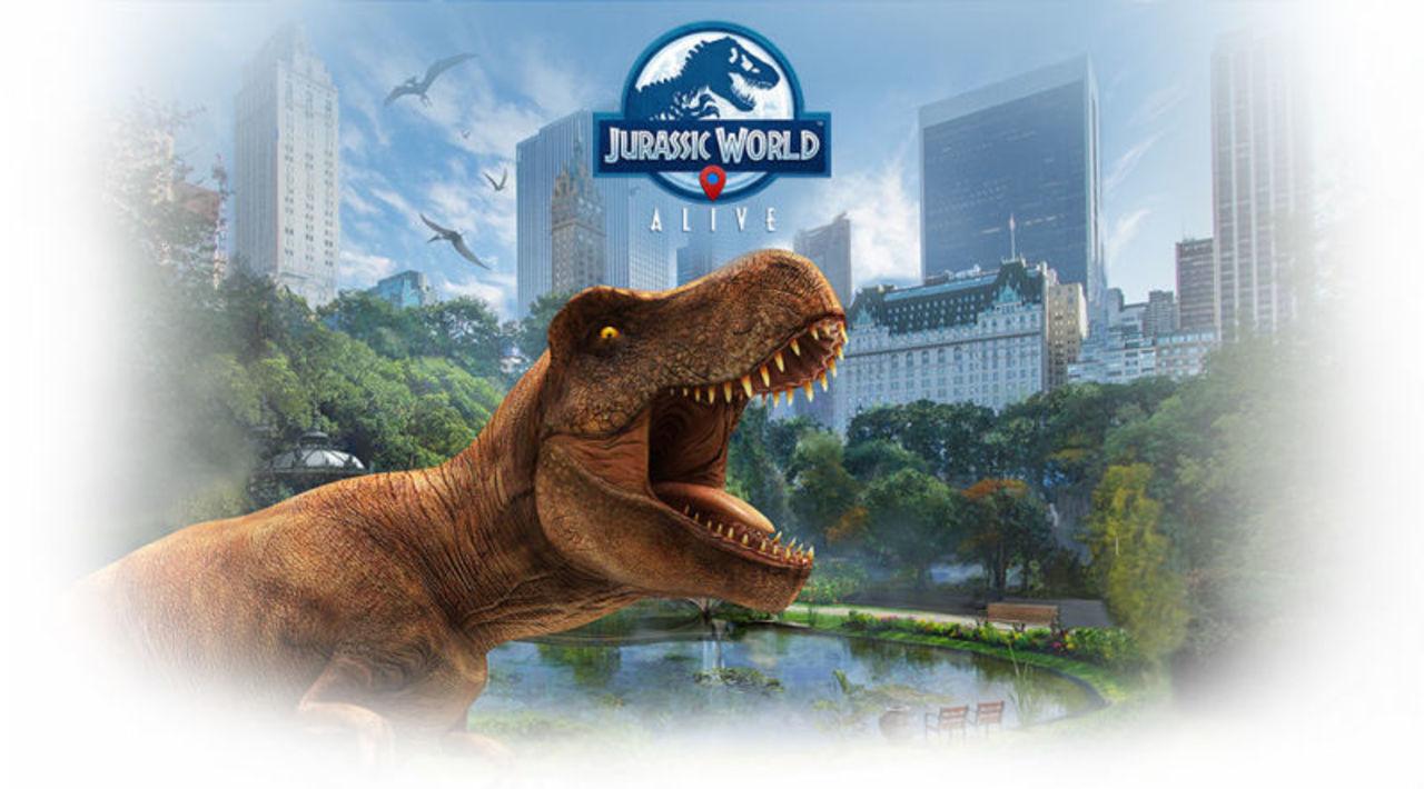 今度は恐竜を捕まえよう。映画『ジュラシック・ワールド』版ポケモンGO「Jurrasic World Alive」