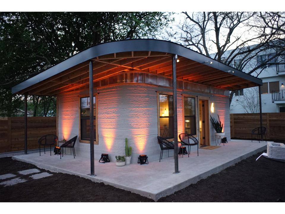 3Dプリンターで作る、24時間で建つお家。お値段100万円ほど、コストもセンスも良さげ
