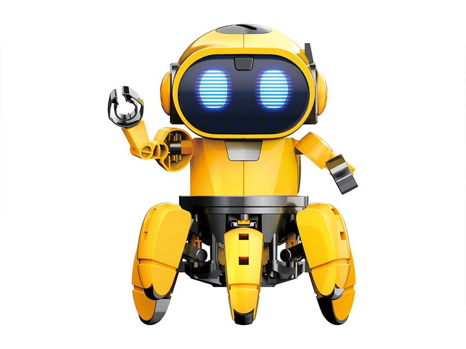六足歩行ロボット「フォロ」がタチコマ可愛い! 赤外線レーダーや追従モードを搭載