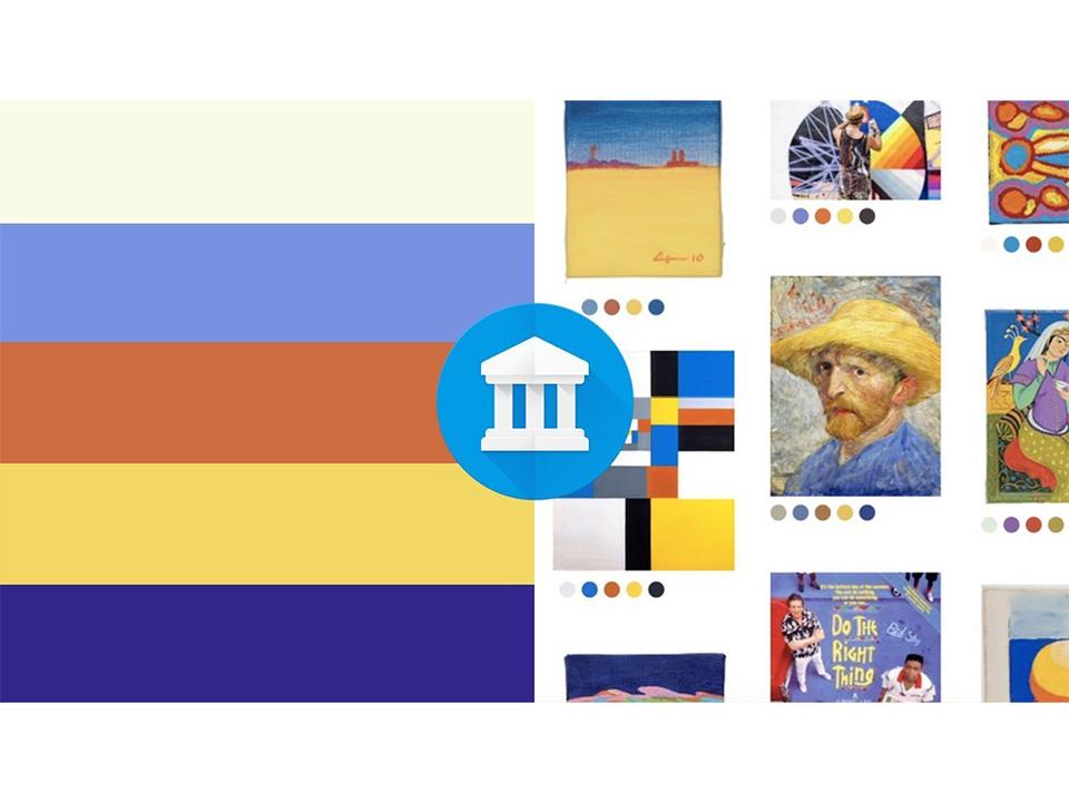 Googleの美術鑑賞アプリ「Google Arts & Culture」、指定した色やお絵描きからアート作品を見つけ出す新機能を公開