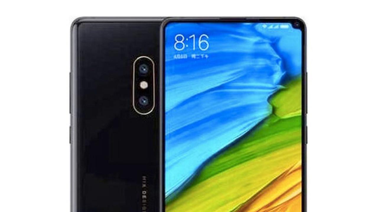 これ名案。XiaomiのMi MIx 2sは「右上」にノッチを搭載?