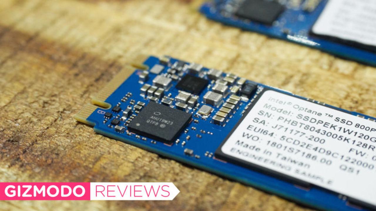 SSDより速い! Intelの新ドライブ「Optane 800P」をレビュー