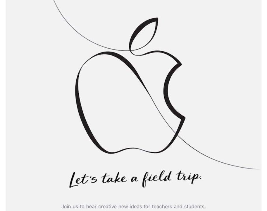 速報:Apple、3月27日に教育者向けのイベントを開催