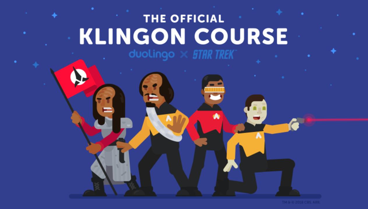 『スタートレック』の「クリンゴン語」が学べる! 言語学習アプリ「duoLingo」