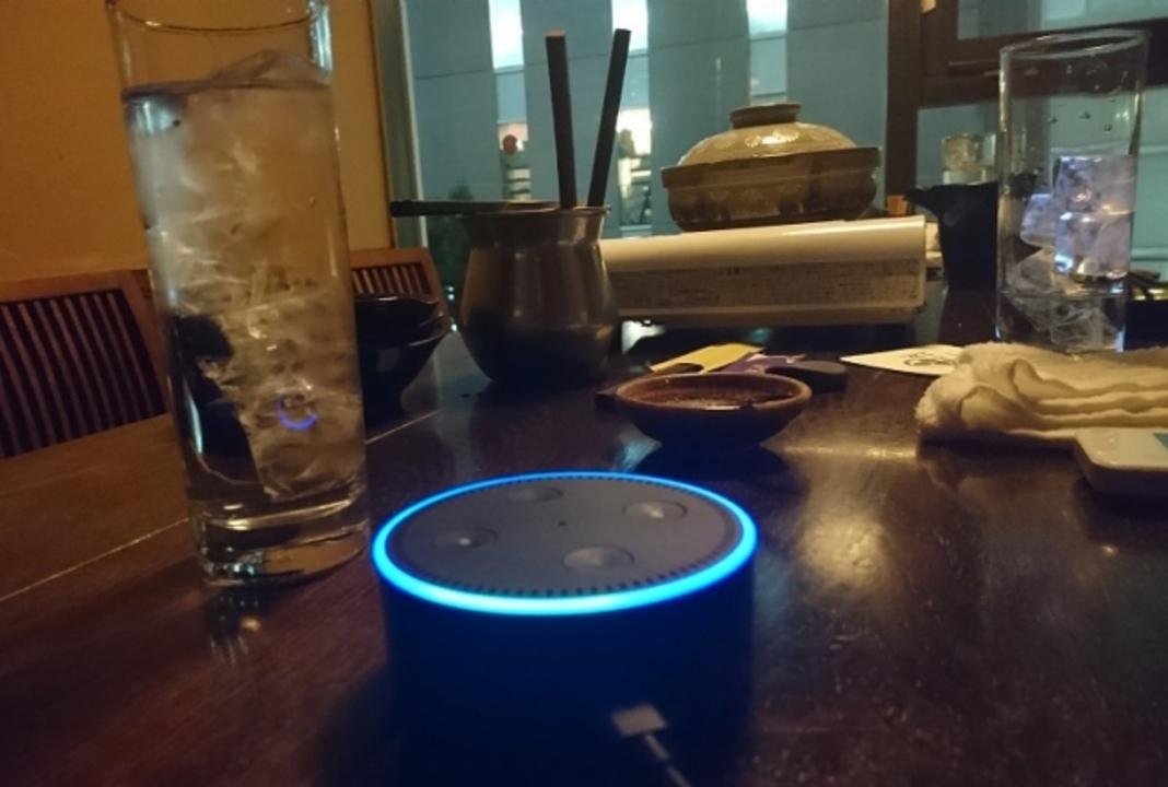 AmazonのAlexa、飲み物オーダースキル追加で居酒屋店員になる