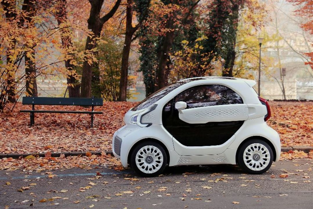 小さくてカワイい。3Dプリンターで作る電気自動車「LSEV」