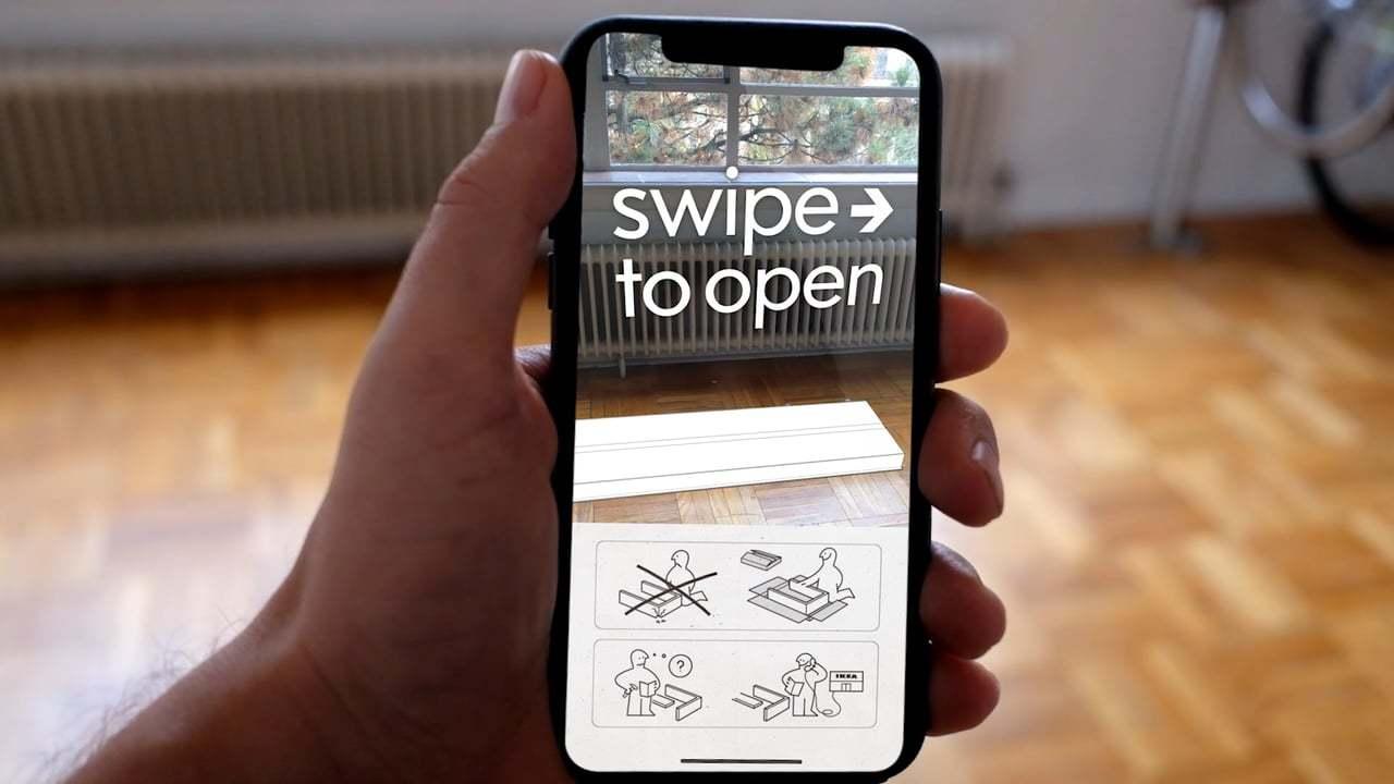 泣いてない、スウェーデン・ミートボールが目に染みただけ。IKEA組み立てアプリが感動のコンセプトだから実現してほしい