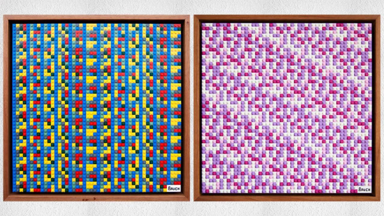 まるで宝探しみたい。秘密鍵を読み解くと、仮想通貨がもらえるレゴのモザイクアート