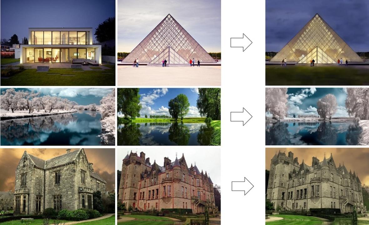 NVIDIAが「この画像をあの画像っぽく」できる高速で高品質なAIアルゴリズム「FastPhotoStyle」を公開