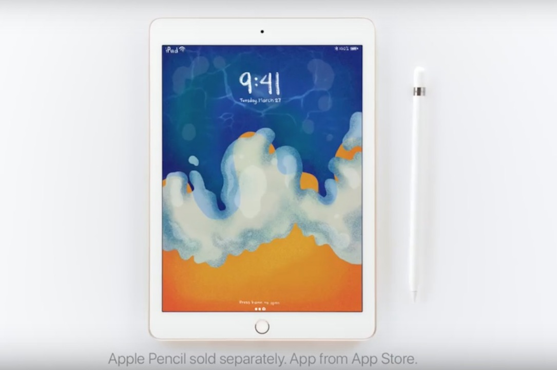 新iPadとApple Pencilで新iPadを描く新iPadの新CMが登場!