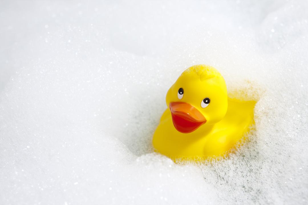 お風呂に浮かべるアヒルのおもちゃは、とんでもなく細菌まみれだった
