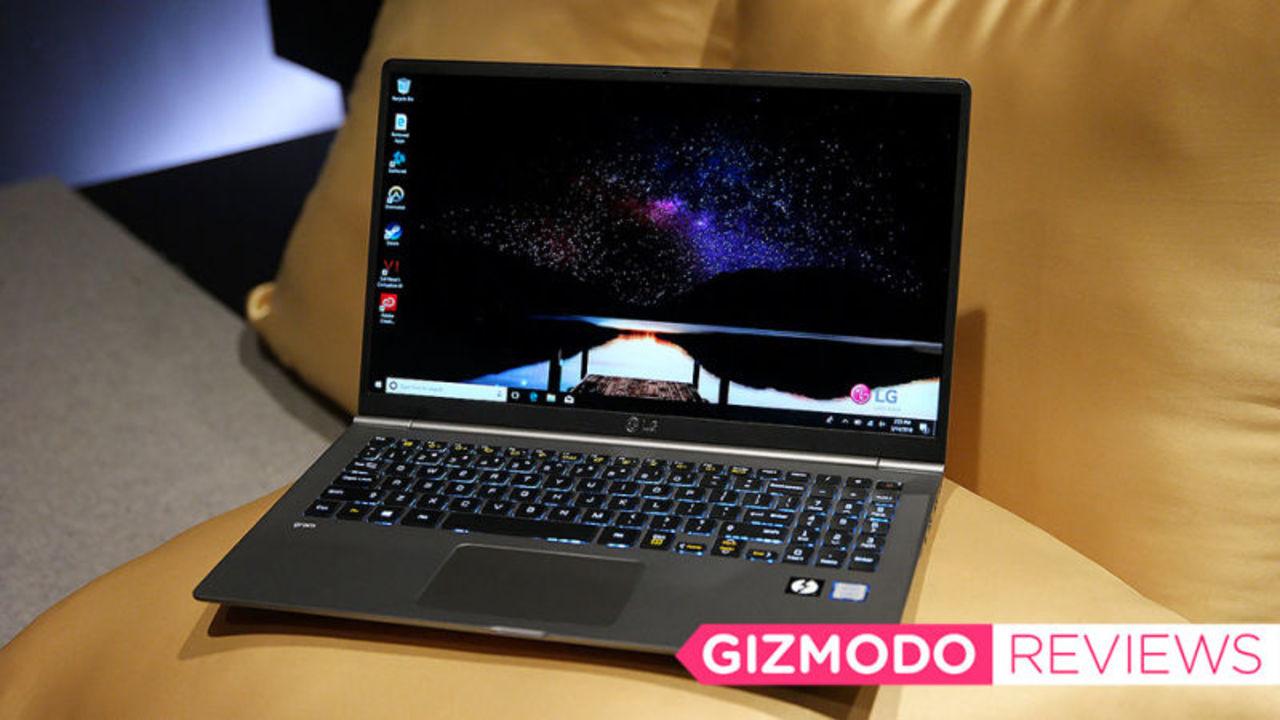 LG Gram 15レビュー:軽さを追求しすぎた大画面ラップトップ