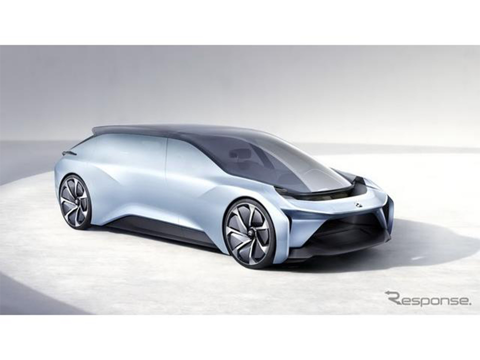 中国のEVメーカーNIOのコンセプトカー「Eve(イブ)」。これは移動する未来のリビングルームだ